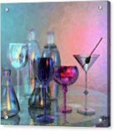 Glassy Still Life Acrylic Print