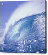Glassy Wave Acrylic Print by Vince Cavataio - Printscapes