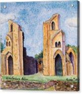 Glastonbury Abbey Acrylic Print