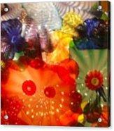 Glazed In Glass Acrylic Print