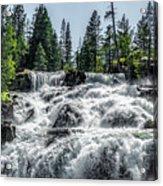 Glen Alpine Falls 7 Acrylic Print