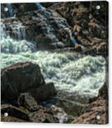 Glen Alpine Falls 9 Acrylic Print