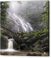 Glen Burney Falls Acrylic Print
