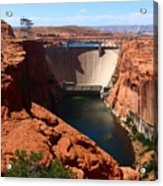 Glen Canyon Dam - Arizona Acrylic Print