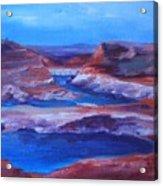 Glen Canyon Dam Arizona Acrylic Print