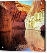 Glen Canyon Reflections Acrylic Print