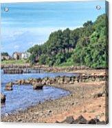 Glen Cove Rocky Beach Acrylic Print