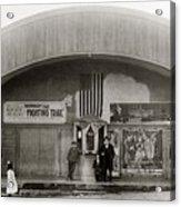 Glen Lyon Pa. Family Theatre Early 1900s Acrylic Print