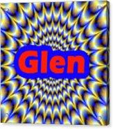 Glen Acrylic Print