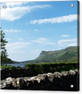 Glencar Lake With View Of Benbulben Ireland Acrylic Print