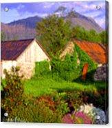 Glencoe Village Acrylic Print