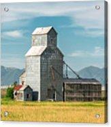 Glengarry Grain Elevator Acrylic Print