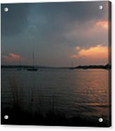 Glenmore Reservoir - Sunset 3 Acrylic Print by Stuart Turnbull