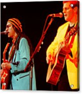 Glenn Frey Joe Walsh-1030 Acrylic Print