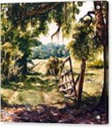 Glen's Pasture Acrylic Print