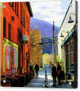 Glenwood Alleyscape Acrylic Print