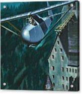 Glider Escape From Colditz Castle Acrylic Print