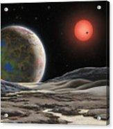 Gliese 581 C Acrylic Print