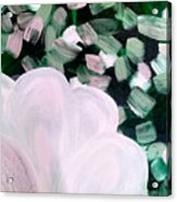 Glimmering Petals Acrylic Print