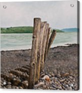 Glin Beach Breakers Acrylic Print