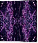 Glitter Explosion Acrylic Print