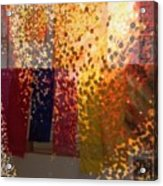 Glitter Glow Acrylic Print