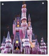 Glittering Cinderella Castle Acrylic Print