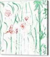 Glittering Spring Acrylic Print