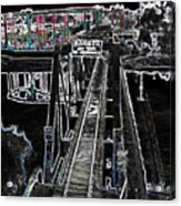 glo 247- Going To The Boardwalk Acrylic Print