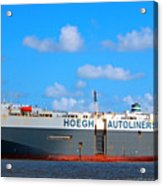 Global Carrier Acrylic Print
