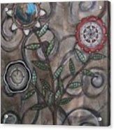 Global Garden Acrylic Print