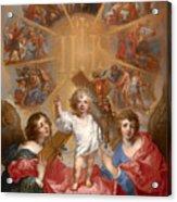 Glorification Of The Name Of Jesus Acrylic Print