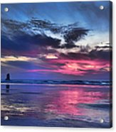 Glorious Glow Acrylic Print