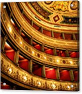 Glorious Old Theatre Acrylic Print