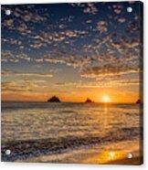 Glorious Playa Sunset Acrylic Print