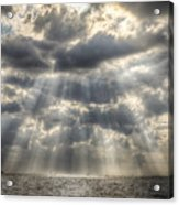 Glorious Rays Of The Heavens Acrylic Print