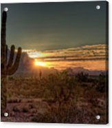 Glorious Sunrise Acrylic Print