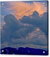 Glory Of Sunset Acrylic Print