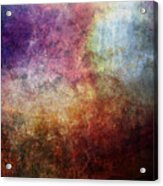 Glory Oil Abstract Painting Acrylic Print