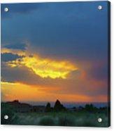 Glory Rays - Albuquerque Acrylic Print