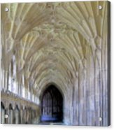 Gloucester Cathedral Cloisters Acrylic Print