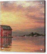 Gloucester Copper Paint Manufactory Acrylic Print