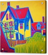 Gloucester Hilltop Acrylic Print
