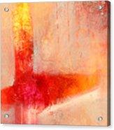 Glow 2 Abstract Art Acrylic Print