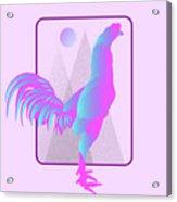 Glow Chicken Acrylic Print