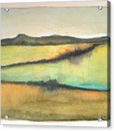 Glow Of The Prairie Acrylic Print