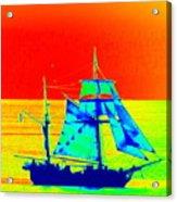 Glow Ship 7 Photograph Acrylic Print