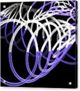 Glow Stix Acrylic Print