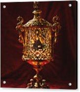 Glowing Antique Lantern Acrylic Print