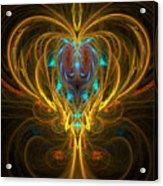 Glowing Chalise Acrylic Print